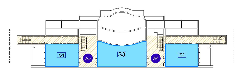 Planimetrie sede di ancona facolt di economia giorgio fu for Planimetrie seminterrato